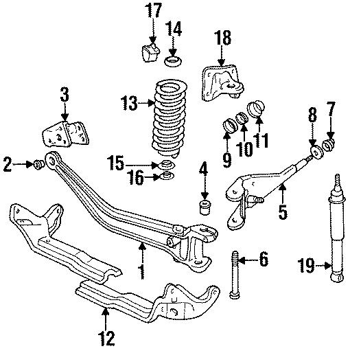 Mazda B4000 Spring   Front   2wd  4wd  Suspension
