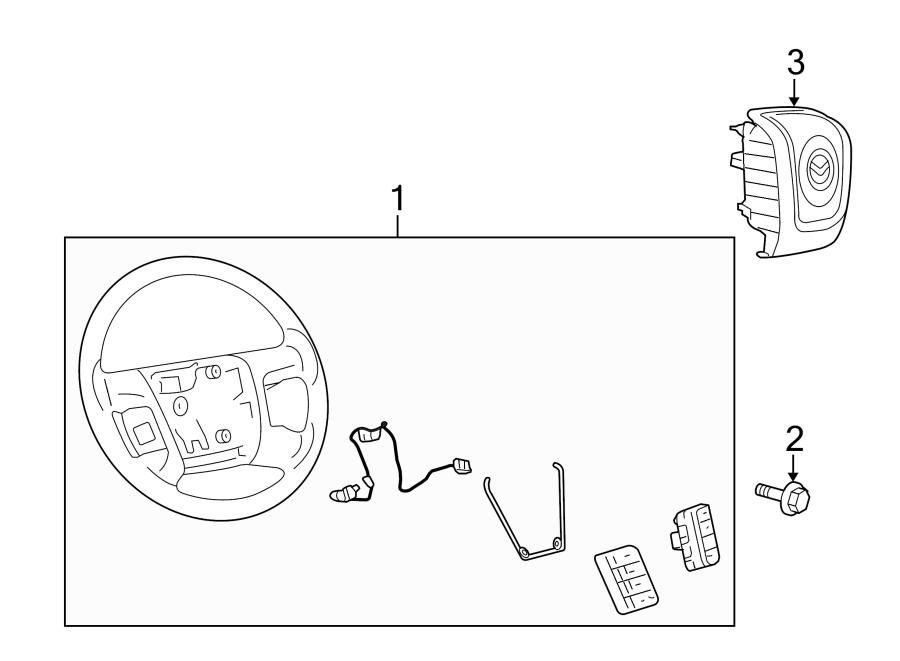 mazda tribute steering wheel  light  stone  navigation