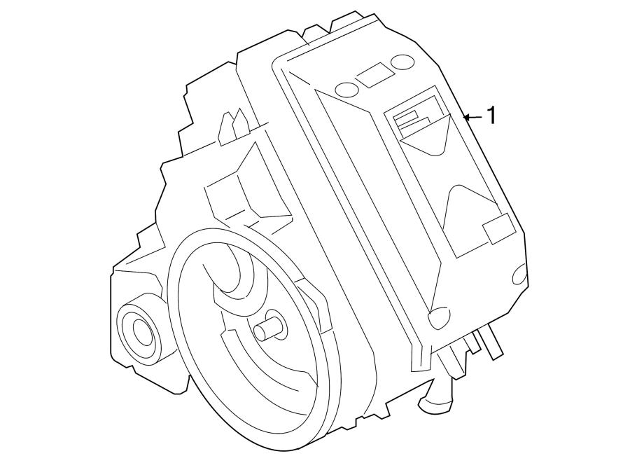 Mazda Tribute Hybrid Electric Motor And Transmission Assembly  2 3 Liter  Tribute Hev