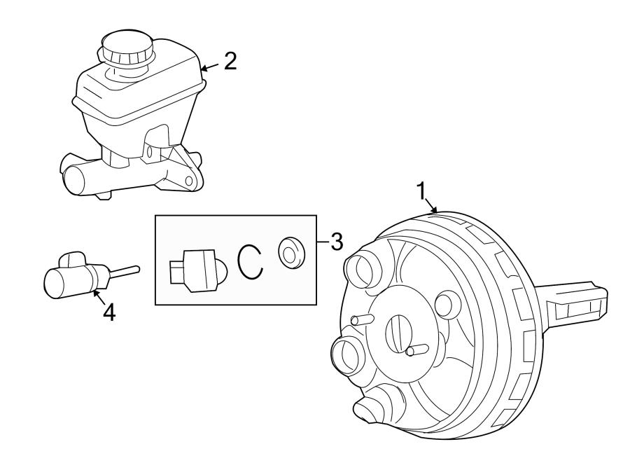 Mazda Tribute Sensor  Brake Bstr Vacuum  Vacuum Solenoid  2009-10
