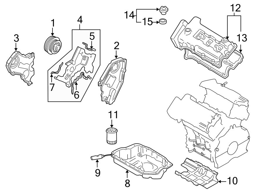 Mazda Millenia Engine Oil Filler Cap  2 3 Liter  2 5 Liter