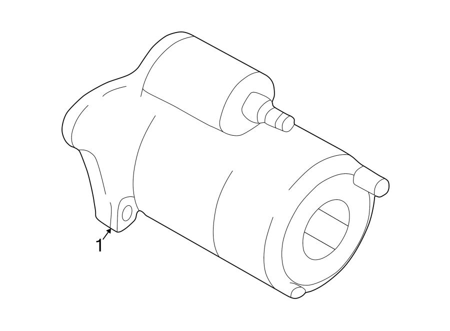 Mazda Protege5 Starter Motor  Liter  Trans  Manual
