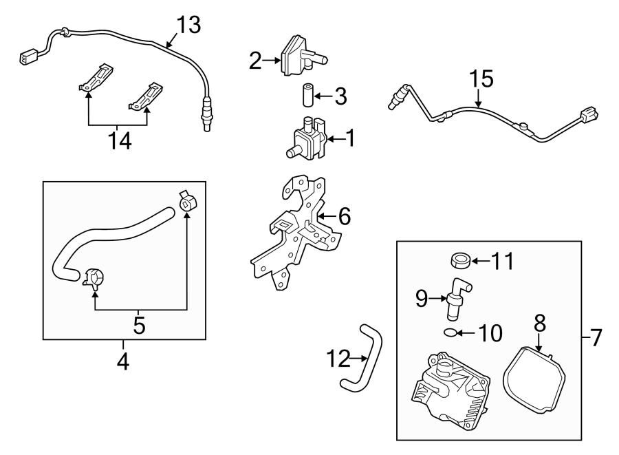 Mazda 3 Fuel Injection Vacuum Line  Tube  Vacuum  Vacuum