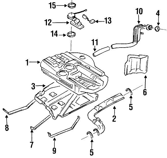 Mazda 626 Fuel Tank Sending Unit  Level