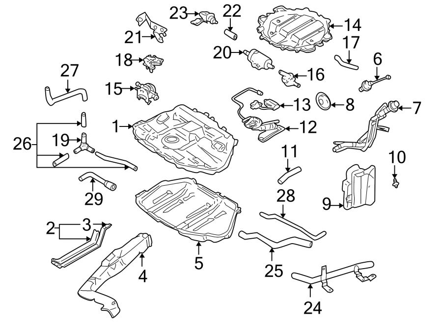 Mazda 626 Connector Hose  Fuel Filler Hose  Fuel Filler Neck  Hose  Joint  Hose That