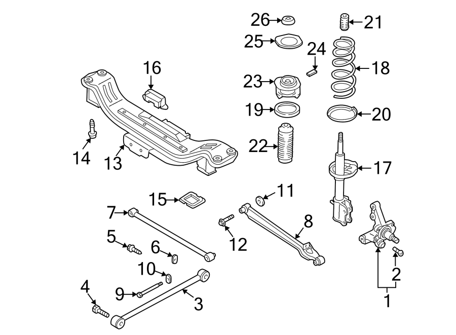 Mazda 626 Arm  Lateral  Link  626  Mx