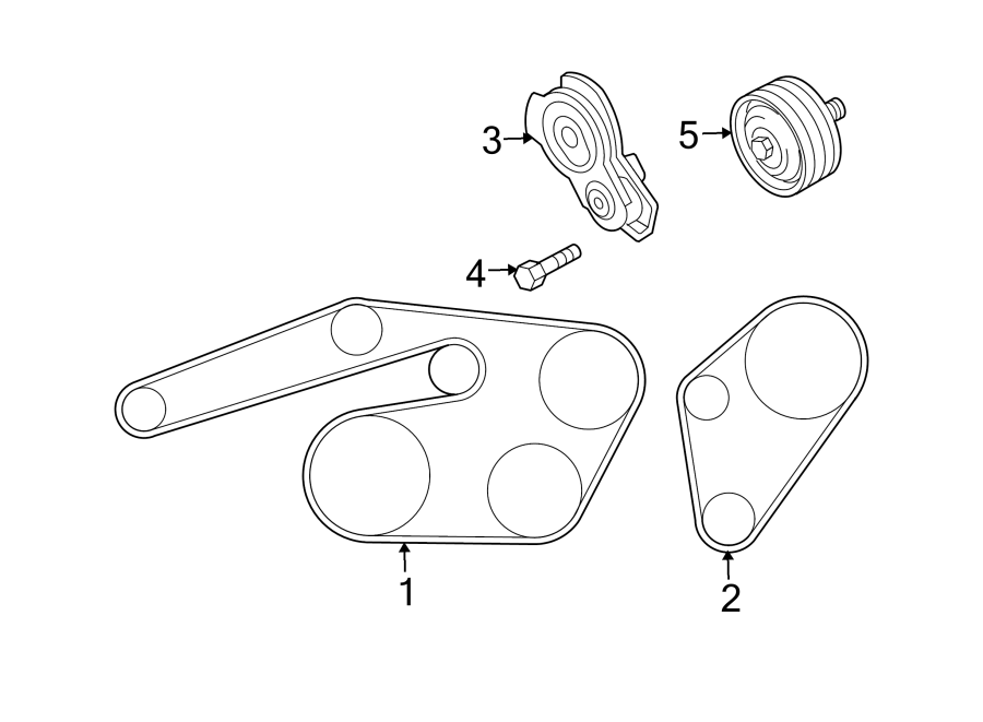 Mazda 6 Accessory Drive Belt