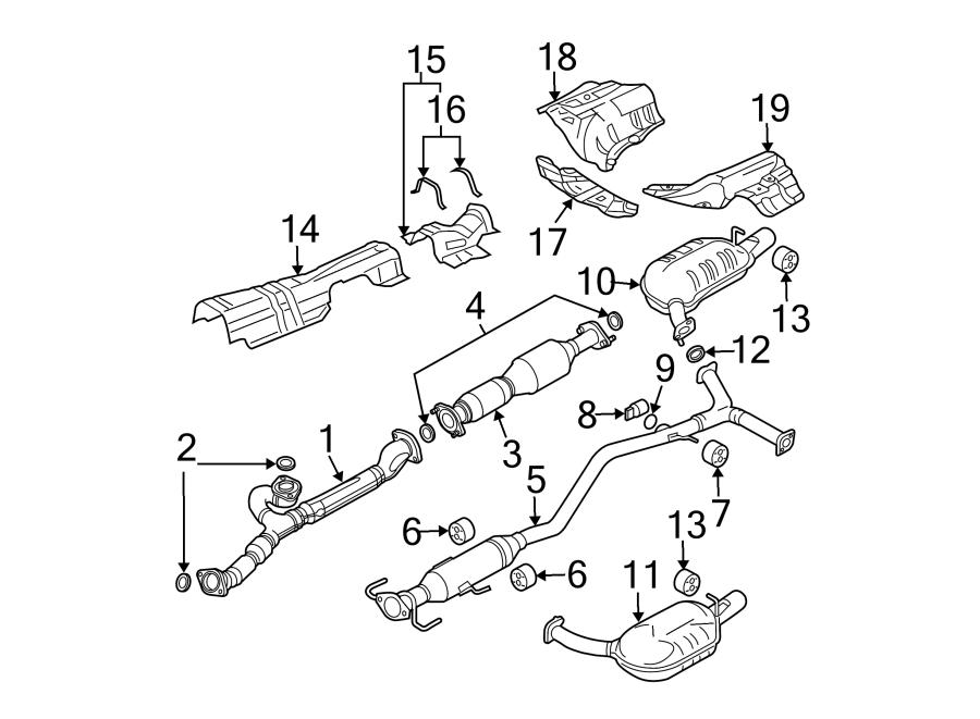 Mazda 6 Pipe  Exhaust  3 0 Liter  2006-08  Mazda6  3 0l