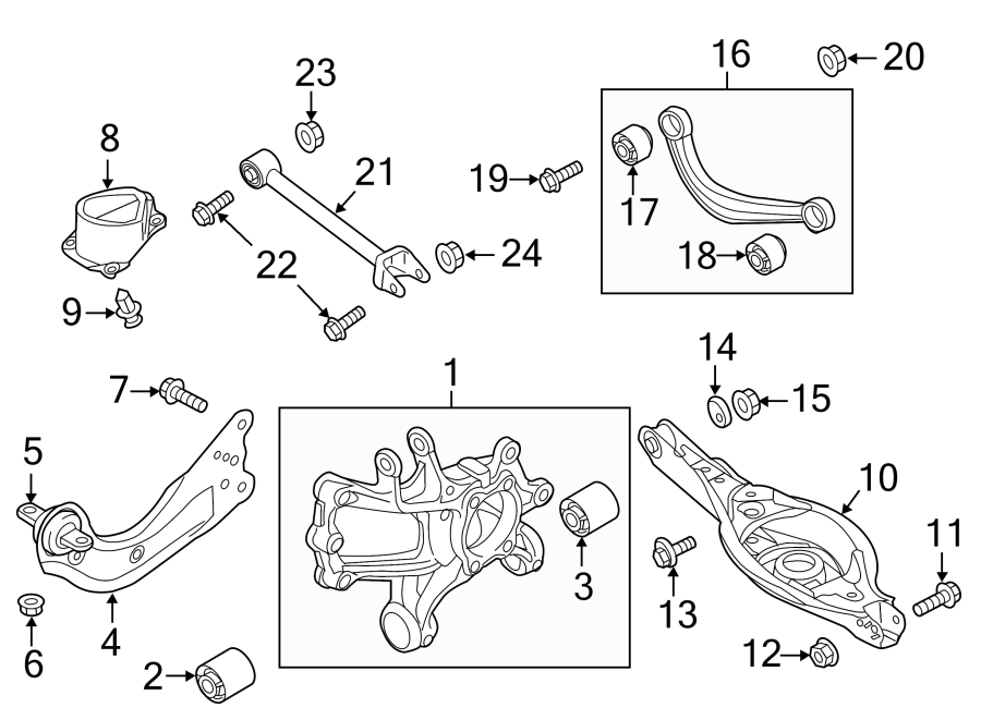 Mazda 6 Suspension Knuckle  From 8  1  2014  Mazda6  Right  From 5  13  13