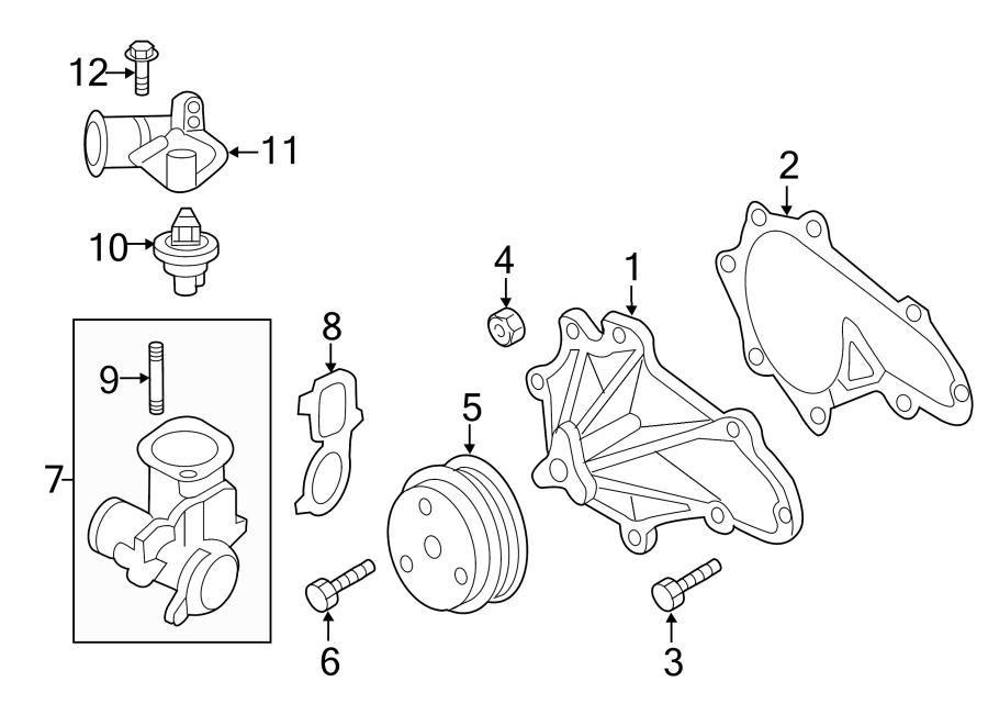 Mazda 626 Bolt  Thermostat  6 Cylinder  Auto Trans  Manual