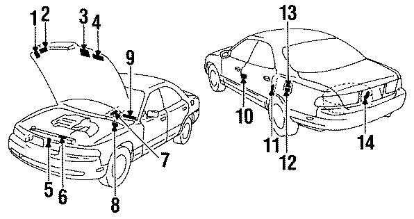 Mazda 929 Label