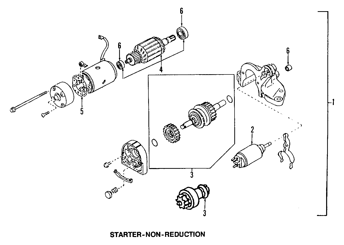 1993 Mazda 323 Engine Diagram Starter