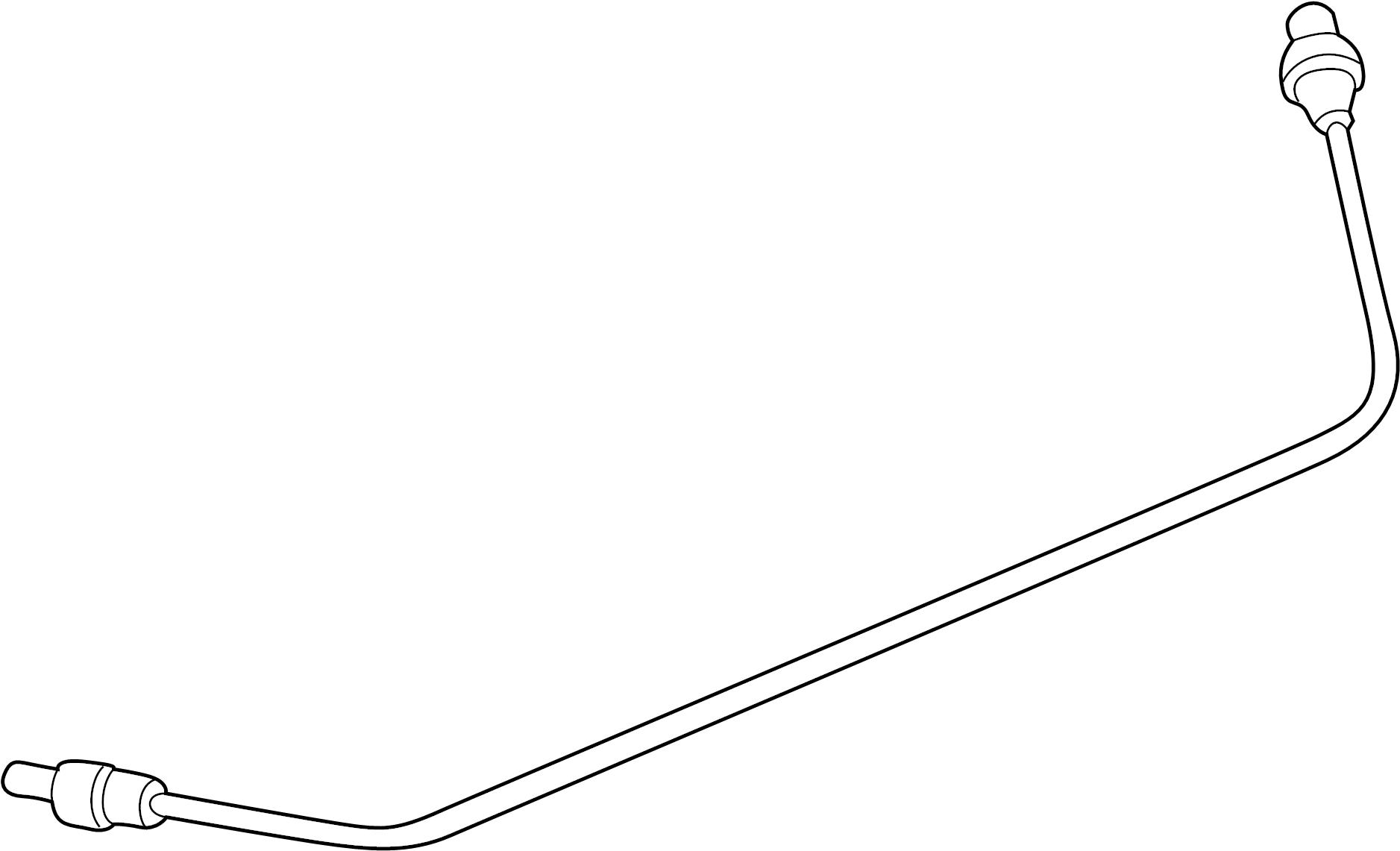 Mazda B2500 Vacuum Hose  4wd  Inlet  Suspension