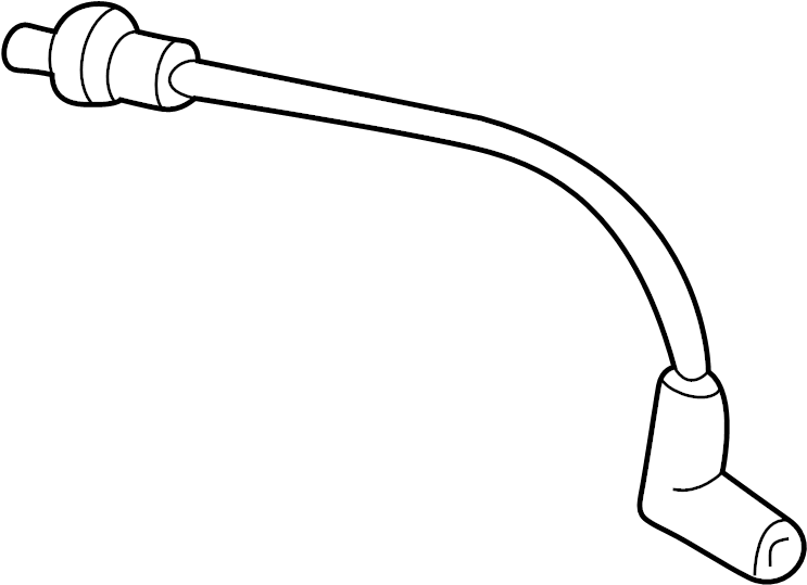 Mazda B2500 Vacuum Hose  4wd  Outlet