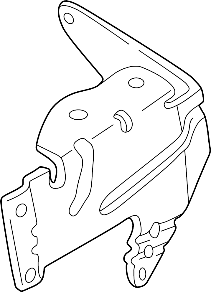 Mazda Tribute Abs Modulator Bracket  Abs Control Unit