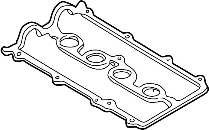 Mazda Protege5 Engine Valve Cover Gasket  1 8 Liter  2 0 Liter  626  Mx