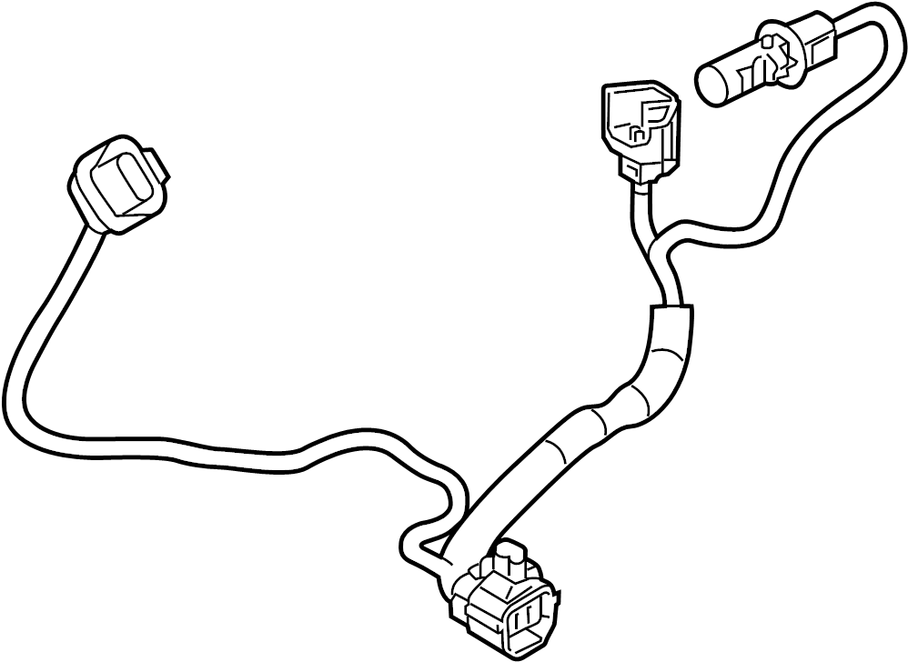 Mazda 3 Headlight Wiring Harness  2017 O