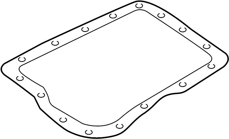 Mazda Protege Automatic Transmission Oil Pan Gasket  Liter  Speed  Transaxle