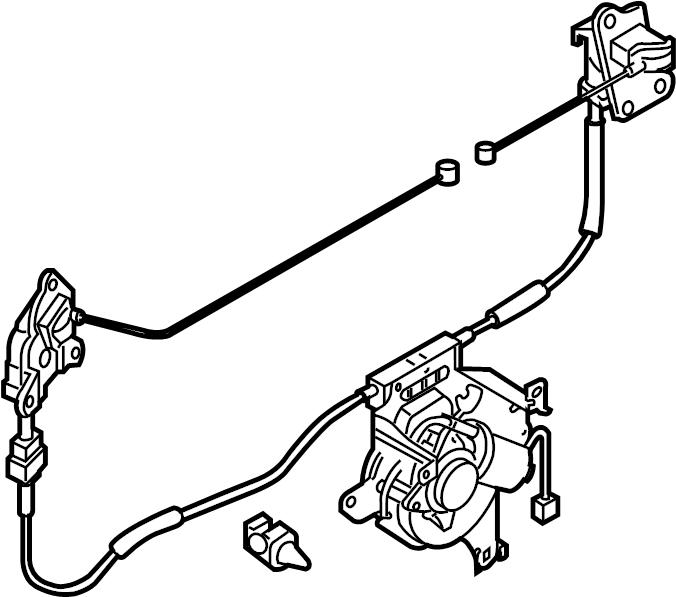 mazda mpv power sliding door motor
