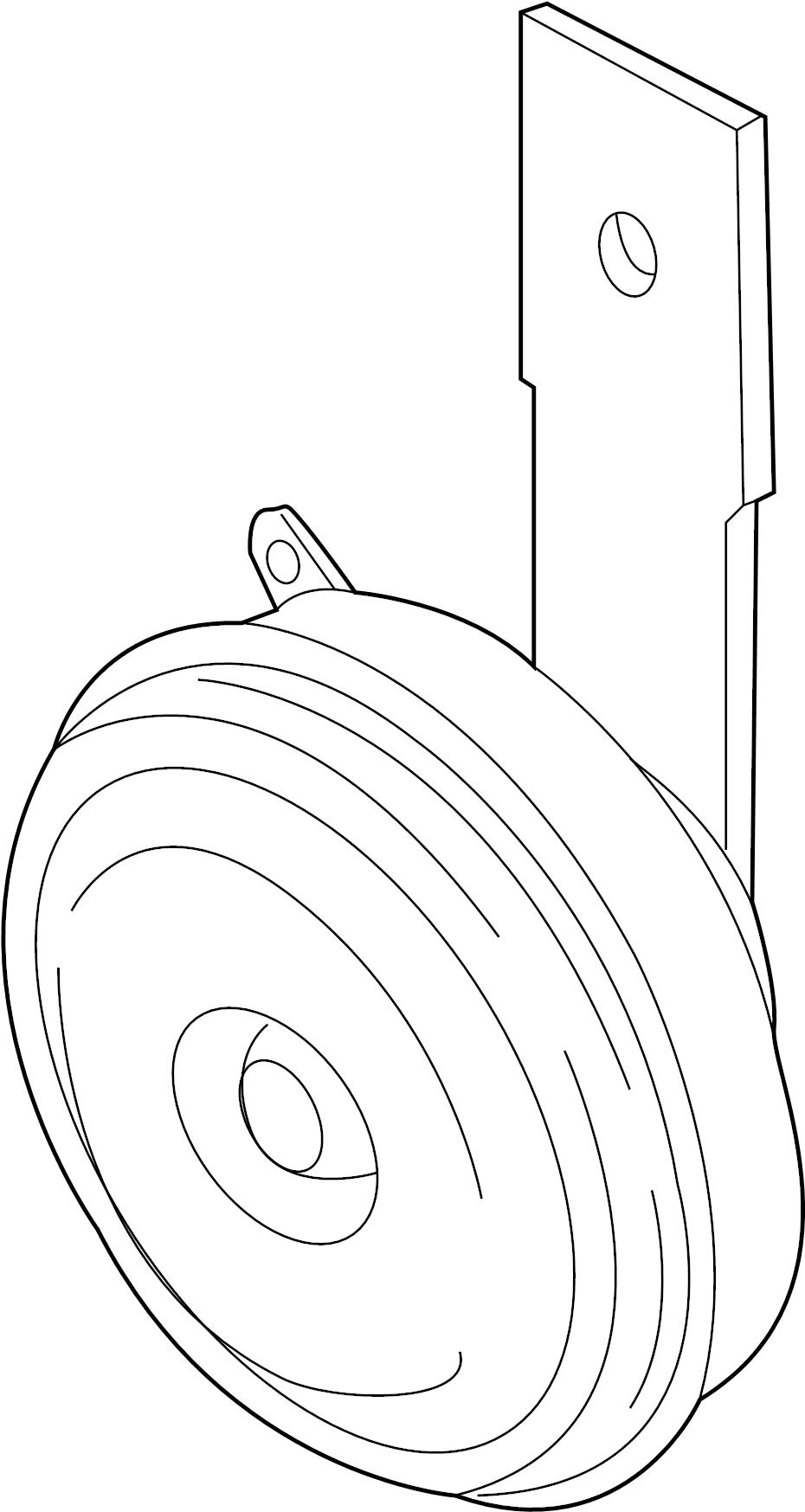 Mazda Millenia Horn  Lower