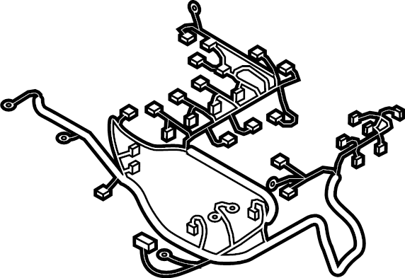 Mazda Mx-5 Miata Engine Wiring Harness