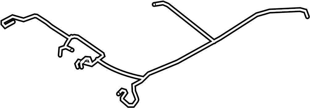 Mazda 6 Headliner Wiring Harness  W  O Sunroof  W  Visor